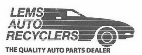 LEMS AUTO RECYCLERS THE QUALITY AUTO PARTS DEALER