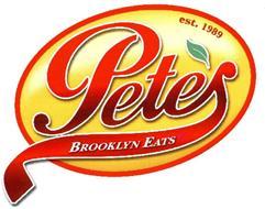 PETE'S BROOKLYN EATS EST. 1989
