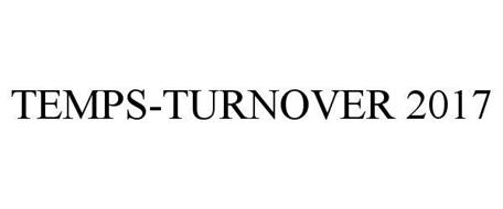 TEMPS TURNOVER - 2017