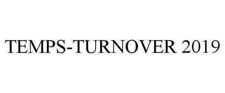 TEMPS-TURNOVER 2019