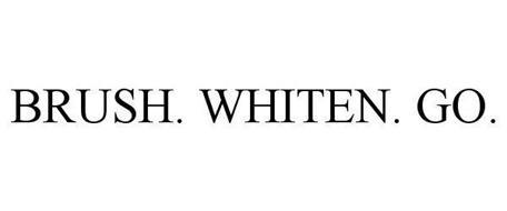 BRUSH. WHITEN. GO.