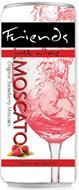 FRIENDS JUST WINE MOSCATO ORIGINAL STRAWBERRY MOSCATO