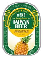 BEER WITH FRUIT FLAVOUR NATURAL AND FRESH QUALITY AND TASTY FRESHLY BREWED TAIWAN BEER PINEAPPLE · FRUIT BEER ·