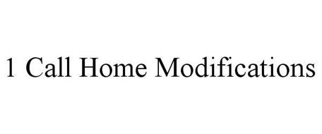 1 CALL HOME MODIFICATIONS