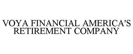 VOYA FINANCIAL AMERICA'S RETIREMENT COMPANY