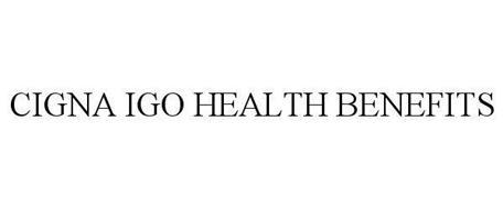 CIGNA IGO HEALTH BENEFITS