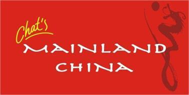 CHAT'S MAINLAND CHINA