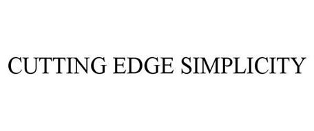 CUTTING EDGE SIMPLICITY
