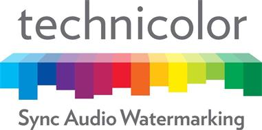 TECHNICOLOR SYNC AUDIO WATERMARKING