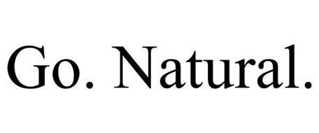 GO. NATURAL.