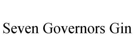 SEVEN GOVERNORS GIN