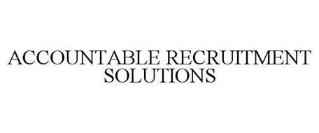 ACCOUNTABLE RECRUITMENT SOLUTIONS