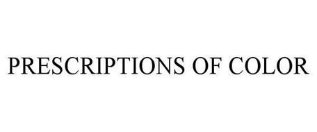 PRESCRIPTIONS OF COLOR