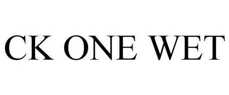 CK ONE WET