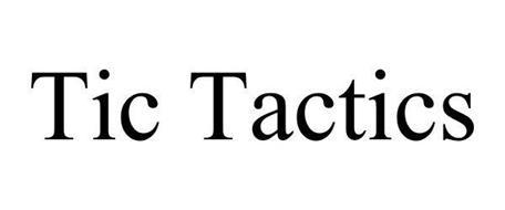 TIC TACTICS