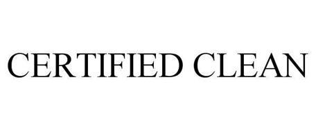 CERTIFIED CLEAN