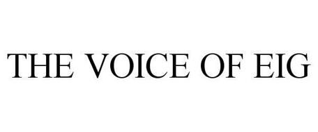 THE VOICE OF EIG