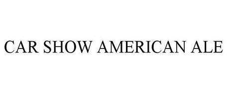 CAR SHOW AMERICAN ALE