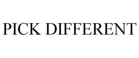 PICK DIFFERENT