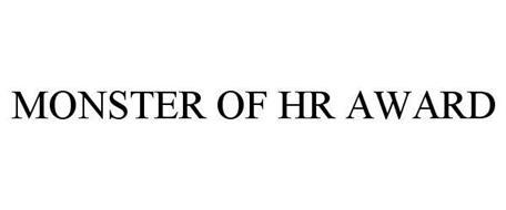 MONSTER OF HR AWARD