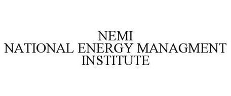 NEMI NATIONAL ENERGY MANAGEMENT INSTITUTE