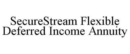 SECURESTREAM FLEXIBLE DEFERRED INCOME ANNUITY