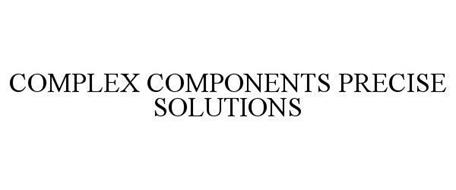 COMPLEX COMPONENTS. PRECISE SOLUTIONS.