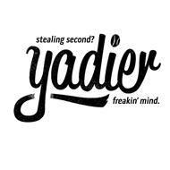 STEALING SECOND? YADIER FREAKIN' MIND.