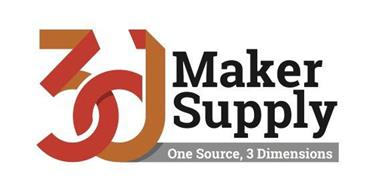 3D MAKER SUPPLY ONE SOURCE, 3 DIMENSIONS