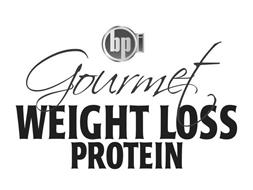 BPI GOURMET WEIGHT LOSS PROTEIN