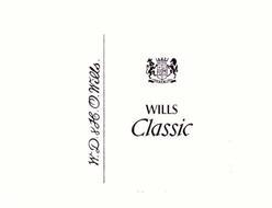 WILLS CLASSIC W.D.&H.O. WILLS