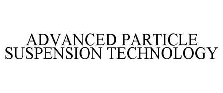 ADVANCED PARTICLE SUSPENSION TECHNOLOGY