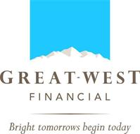 GREAT-WEST FINANCIAL BRIGHT TOMORROWS BEGIN TODAY