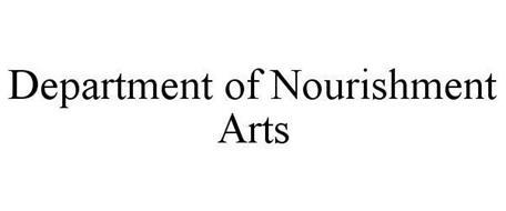 DEPARTMENT OF NOURISHMENT ARTS