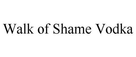 WALK OF SHAME VODKA