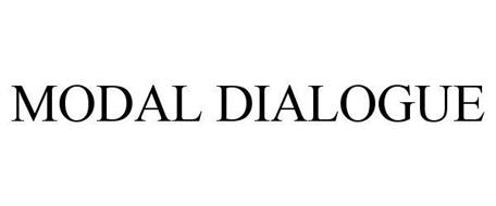 MODAL DIALOGUE