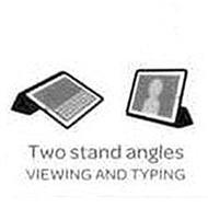 TWO STAND ANGLES VIEWING AND TYPING