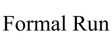 FORMAL RUN