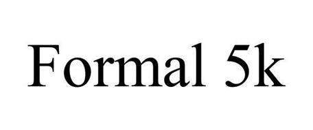 FORMAL 5K
