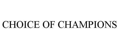 CHOICE OF CHAMPIONS