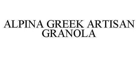 ALPINA GREEK ARTISAN GRANOLA