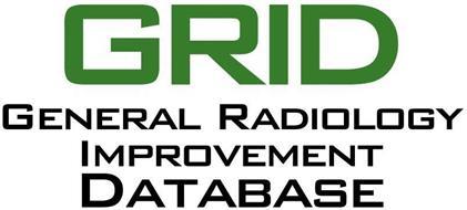GRID GENERAL RADIOLOGY IMPROVEMENT DATABASE
