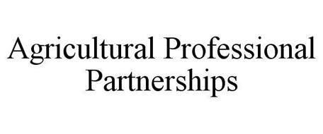 AGRICULTURAL PROFESSIONAL PARTNERSHIPS