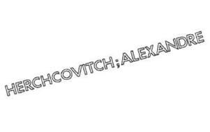 HERCHCOVITCH; ALEXANDRE