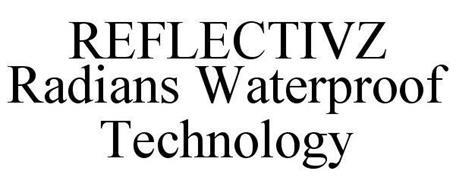 REFLECTIVZ RADIANS WATERPROOF TECHNOLOGY