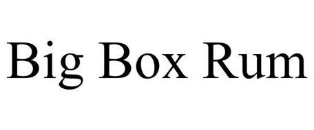 BIG BOX RUM