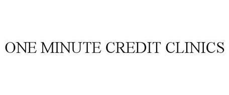 1-MINUTE CREDIT CLINICS