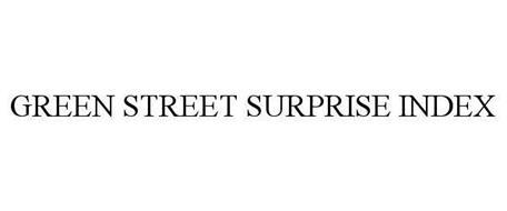 GREEN STREET SURPRISE INDEX