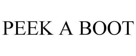 PEEK A BOOT