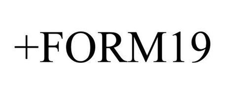+FORM19